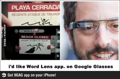 Google Glasses Translate แว่นตา กูเกิล แปลภาษา