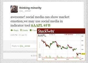 social media stock online trader หุ้น ลงทุน